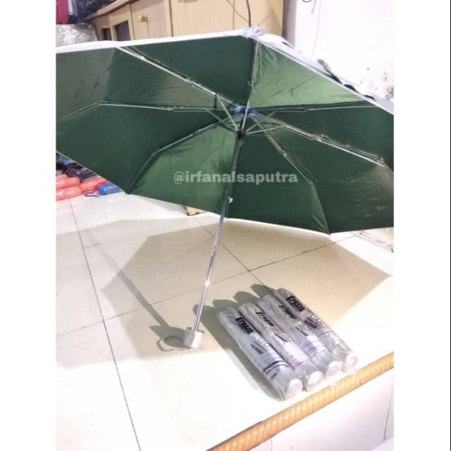 Payung Lipat Polos Silver Pasio