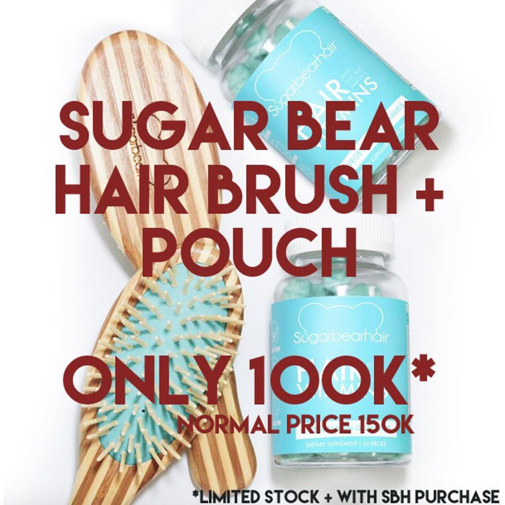 Ready 100 Original Usa Sugarbearhair Sugar Bear Hair Sugarbear Hair Berkualitas | Shopee Indonesia