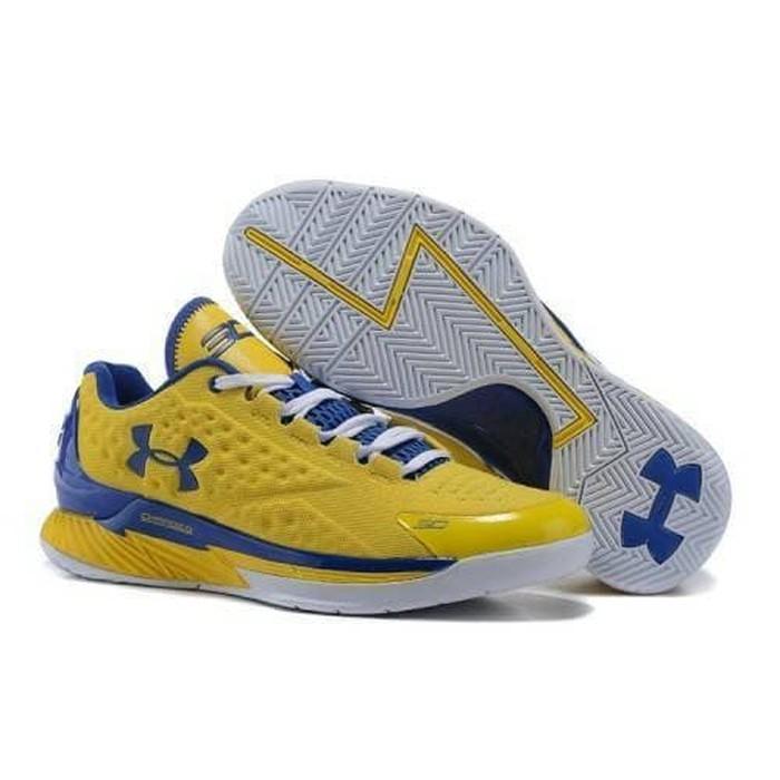 e7dc6ce25a70 Under Armour Curry 5 Sepatu Basket Breathable Ukuran 40-46
