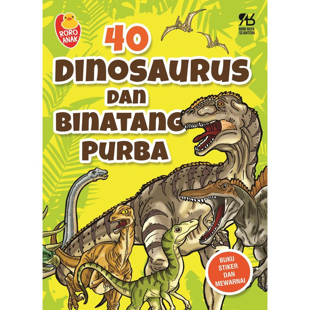 """Buku Anak Murah """"40 Dinosaurus & Binatang Purba"""""""