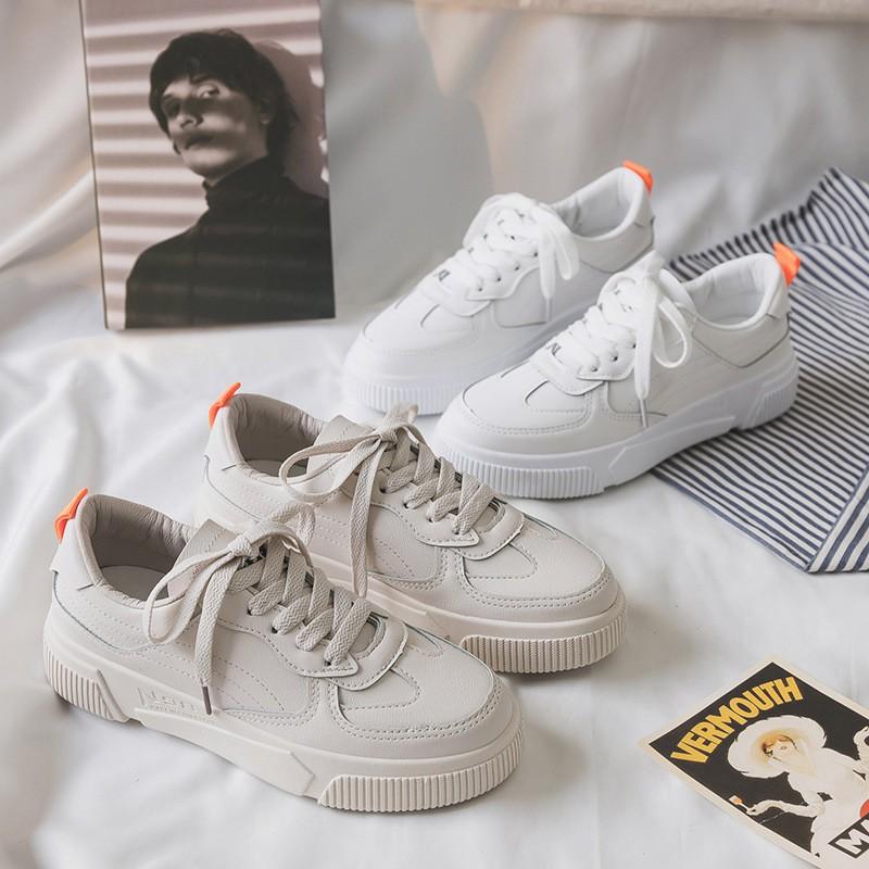 Free Kaus Kaki Sepatu Sneakers Korea Ulzzang Putih Sepatu Kets