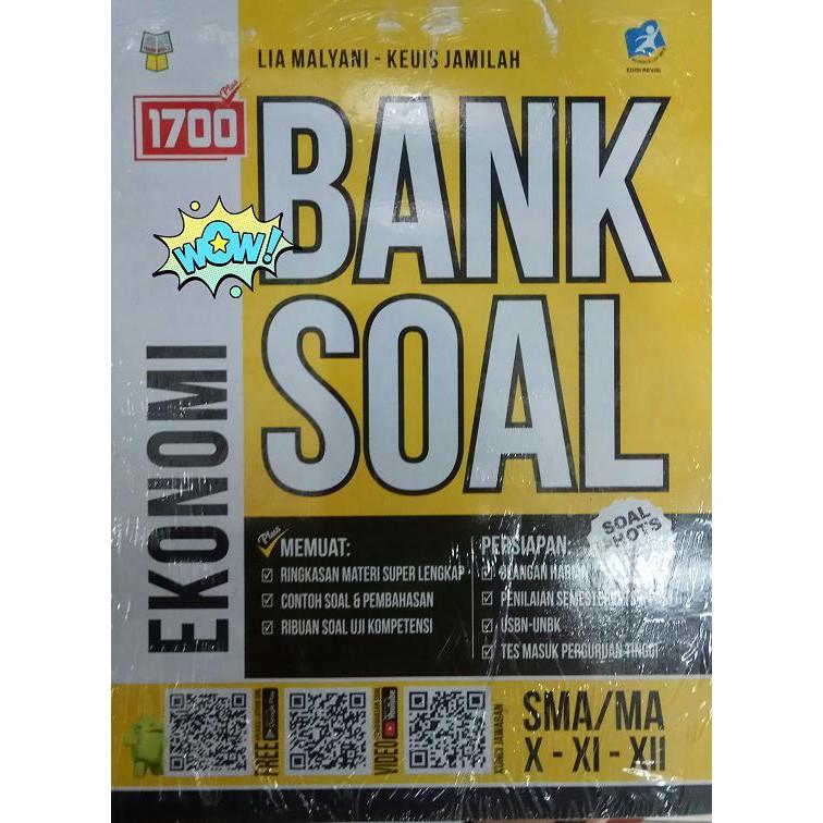 1700 Plus Bank Soal Ekonomi Sma Kelas 10 11 12 Shopee Indonesia