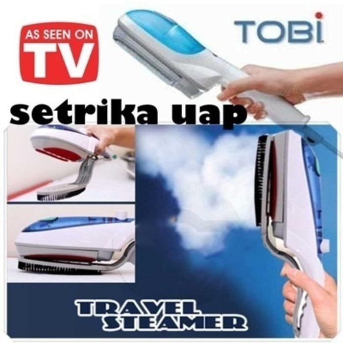 Promo/ new model Promo Setrika Uap Tobi Strika Laundry Iron Travel Steamer A /Ori