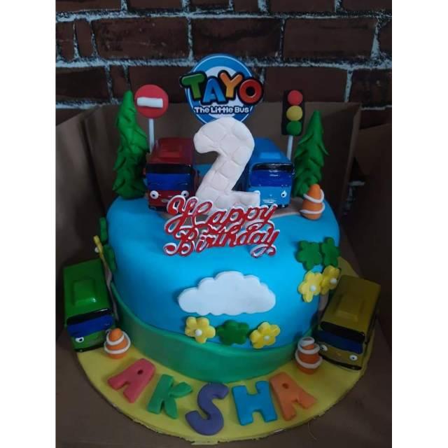 Kue Ulang Tahun Tayo Cake Tayo Cake Ultah Tayo