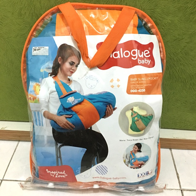 Exclusive Dialogue Baby Sailor series baby sling pocket DGG