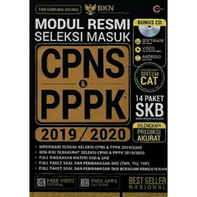 Modul Resmi Seleksi Masuk Cpns Pppk 2019 2020 Shopee Indonesia