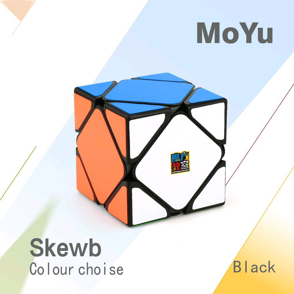 Rubik Skewb Cube Mf Mfjs Moyu 4x4 Mofang Jiaoshi Mf4s Stickerless Shopee Indonesia