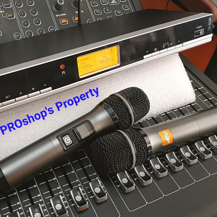 [Microphone] WIRELESS MIC DBQ U828 bagus/murah/berkualitas