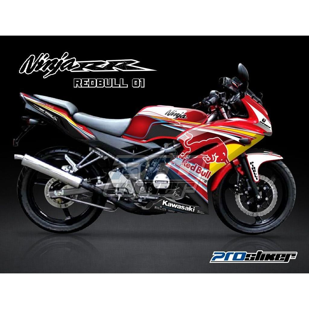Jual decal ninja 150rr new motif marka striping prostiker semua siap kirim shopee indonesia