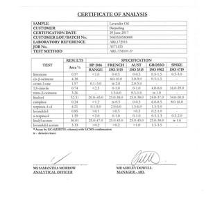 TERLARIS LAVENDER ESSENTIAL OIL / MINYAK LAVENDER 100% ALAMI - 10ML