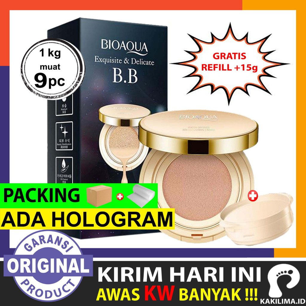 Up To 57 Discount From Kakilima Id Bioaqua Chic Trendy Soft Rose Blush On Kakilimaready Stock Exquisite Delicate Bb Cream Cushion R