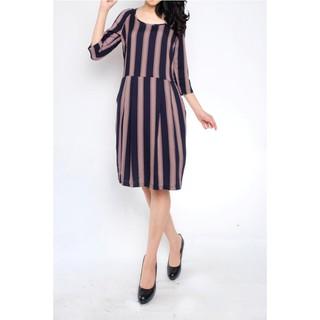 Baju Branded, Baju Wanita, Dress Casual, Midi dress