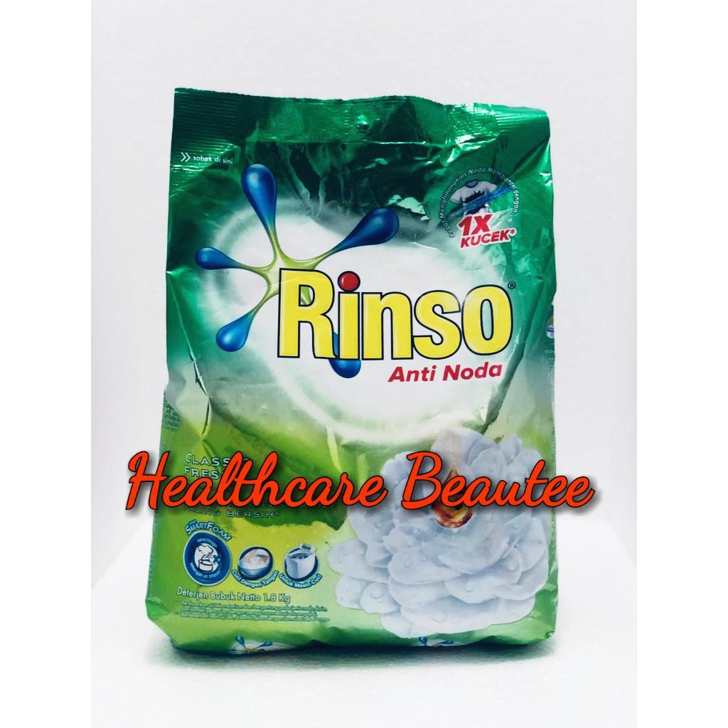 Rinso Bubuk Anti Noda Classic Fresh 1,8KG/DETERJEN MURAH MERK BAGUS | Shopee Indonesia