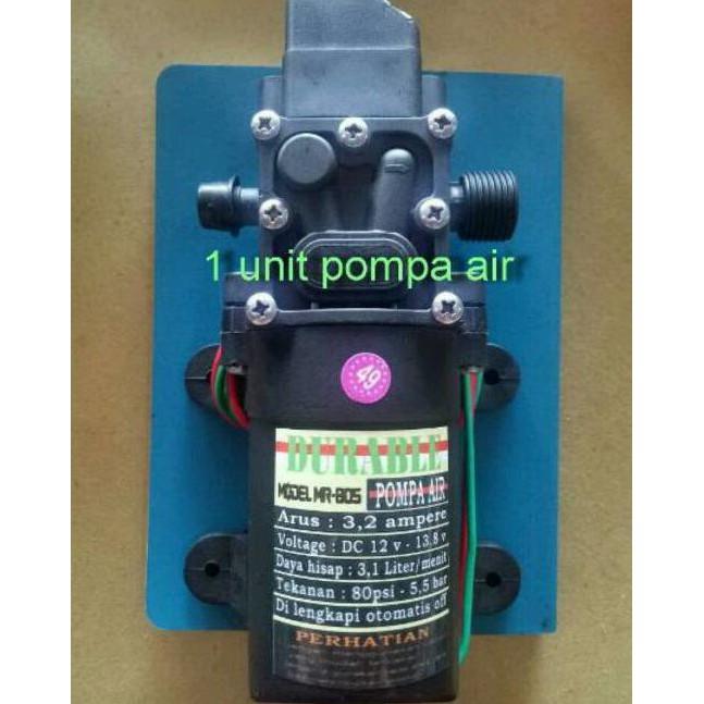 Stock Terbaru Pompa Air Elektrik High Pressure 12V Cuci Motor / Mobil Paling Murah Promo Ramadhan   Shopee Indonesia