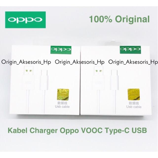 USB OPPO VOOC RENO TYPE-C ORI 100%