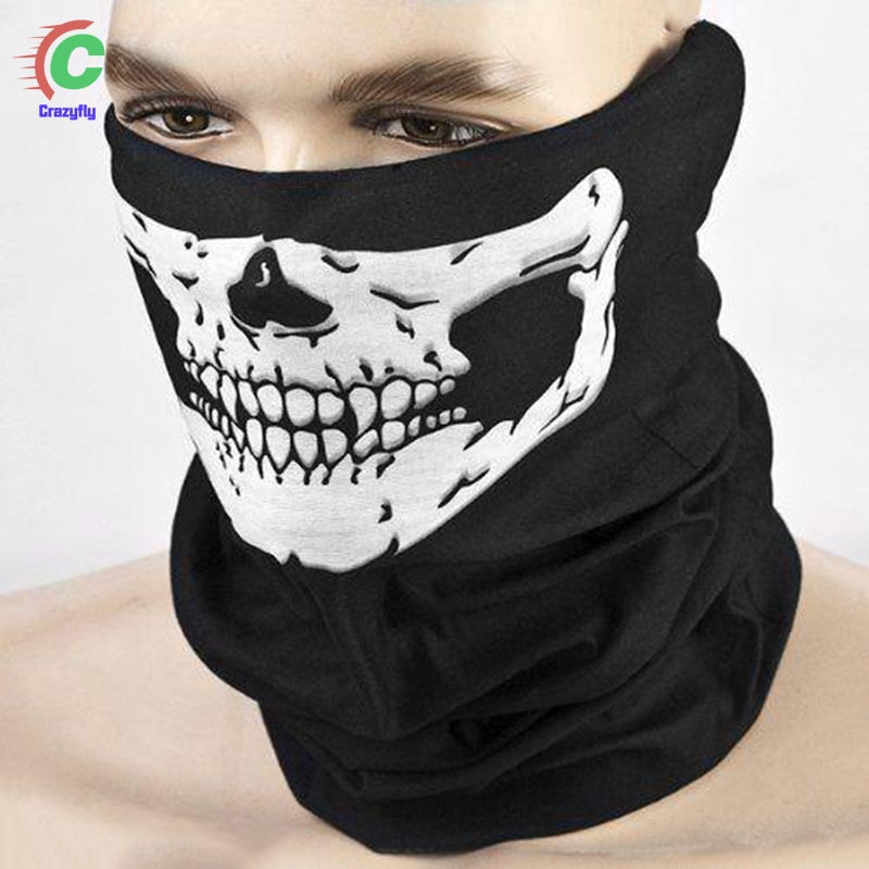 Mouth Cover Unisex Outdoor Sports Neck Warmer Bicycle Scarf Cycling Mask Face Bandana