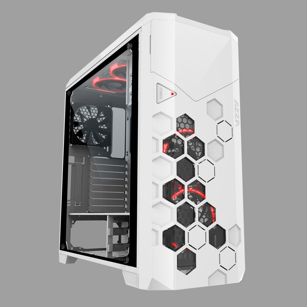 harga CUBE GAMING STORM (Case By AZZA) - Full Tower - Tempered Glass Shopee.co.id