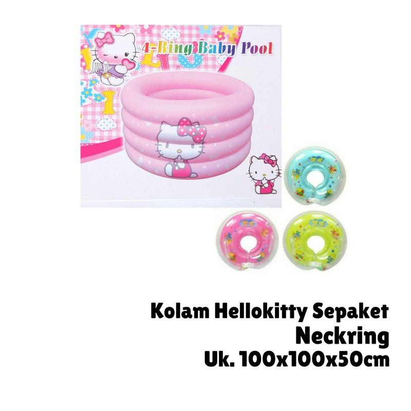 Kolam Renang Anak Baby Spa HelloKitty FREE Neckring .