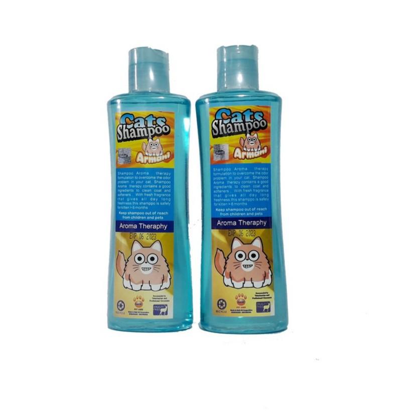 Armani Aromatherapy Cat Shampoo / Shampo Kucing dengan Aromaterapi 200mL-1