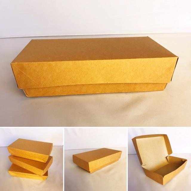 Packaging Makanan: PAPER LUNCH BOX / LUNCH BOX KERTAS / BOX NASI KERTAS