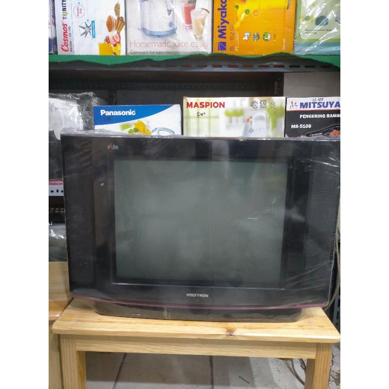 TV TABUNG POLYTRON ULTRA SLIM 21 INCH