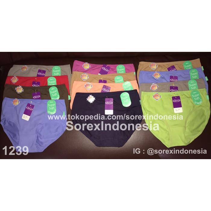 1 Lusin Cd Wanita Supersoft Atau Celana Dalam Sorex 1239 Murah T7 harga  grosir  4ad22f2493