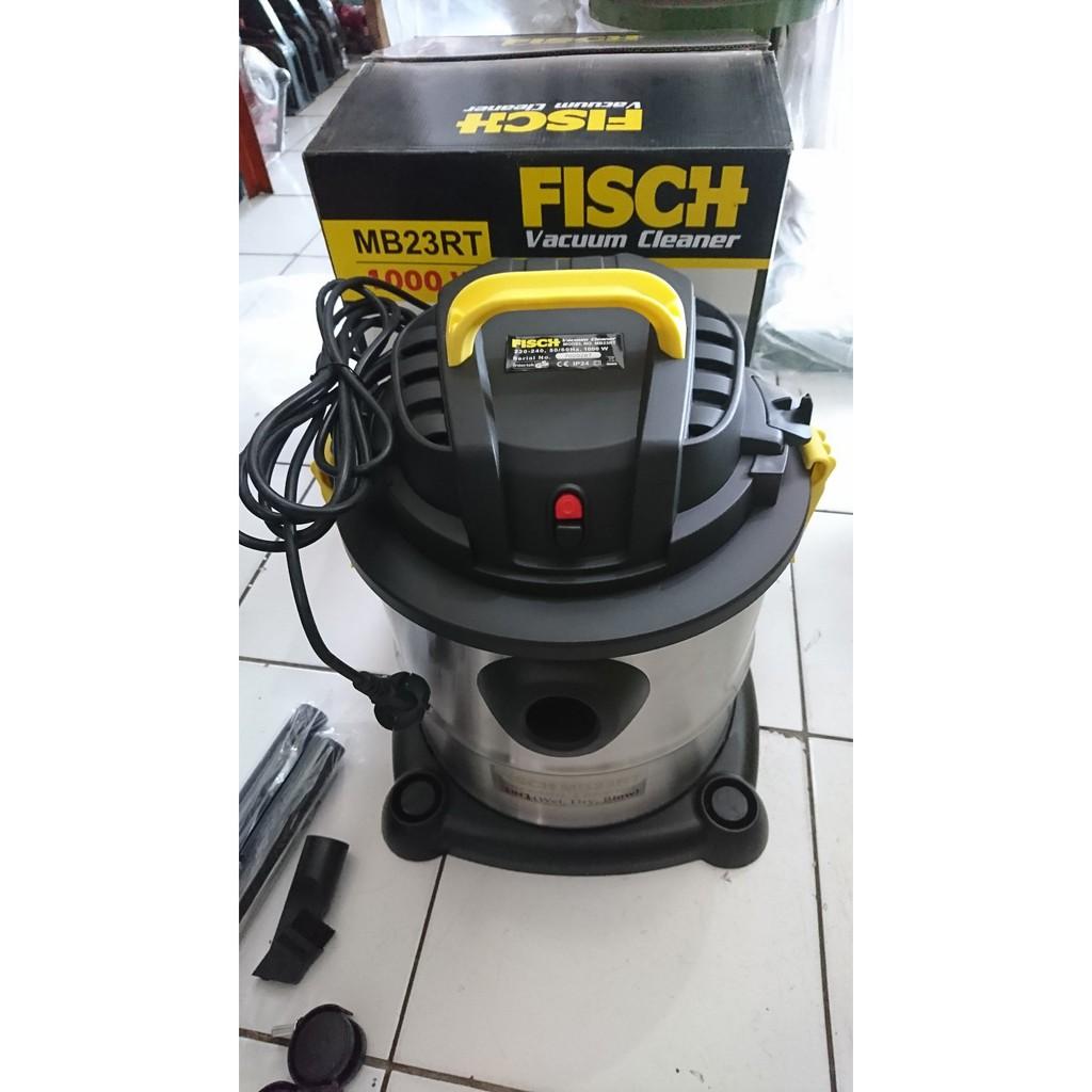 Mesin Vacum Cleaner Fisch Vacuum Hisap Sedot Mb 23 Rt Debu Besar 3 In 1 Blower 12l Mb12ls Shopee Indonesia