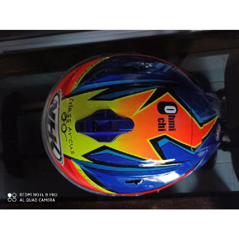 Promo murah     Helm NHK GP Prime Tito Rabat (Fullface)free pinlock