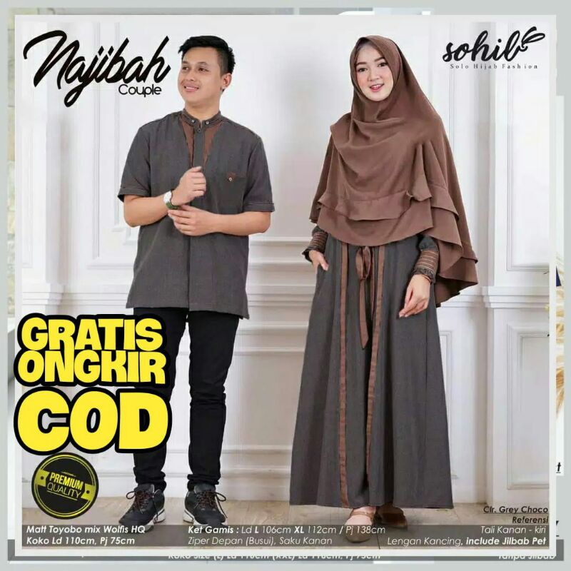 Harga Baju Couple Muslim Terbaik Fashion Muslim April 2021 Shopee Indonesia