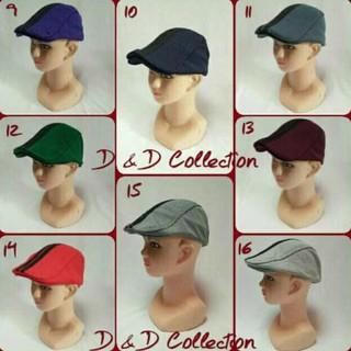 D   D Hat Collection Paddy Cap Topi Pet Anak Balita Motifgaris Marun ... 9a678fa462