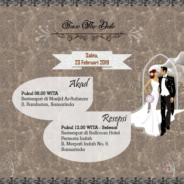Video Undangan Digital Undangan Pernikahan Undangan Nikah