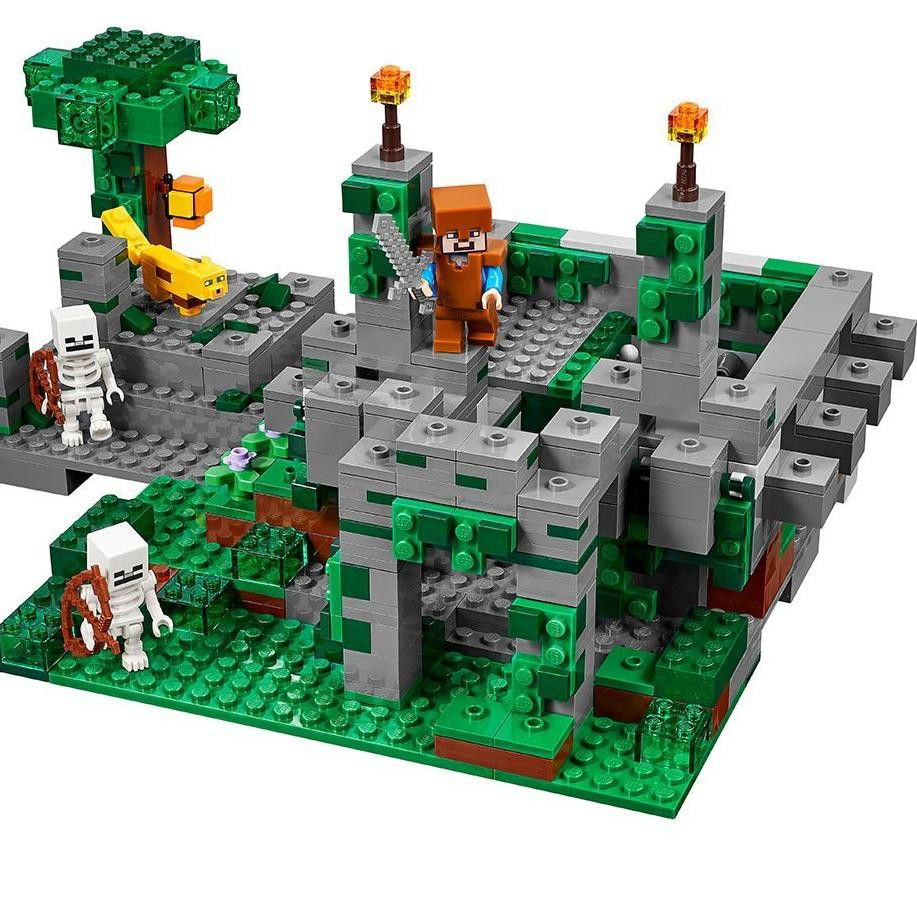 _ Y11 1127 Lego Minecraft My World The Jungle Temple -