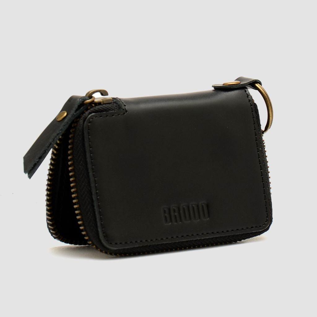 Brodo Zipper Wallet 20 Black Shopee Indonesia Dompet Pria