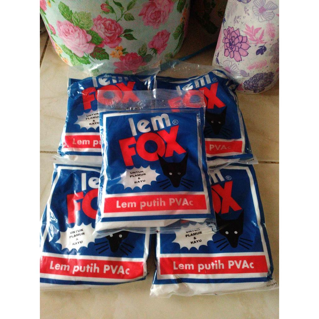 Lem Fox Putih Sachet 350 Gram Untuk Pemasangan Wallpaper