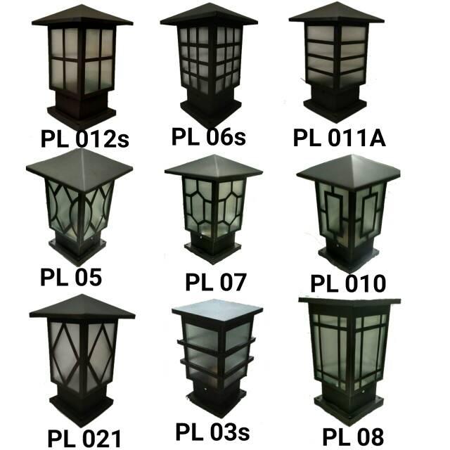 Pagar Rumah Minimalis Stenlis  terbaru lampu pagar minimalis garansi harga super murah pilar rumah minimalis dekorasi taman
