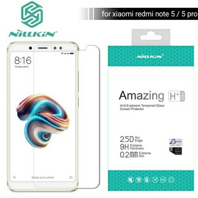 Nillkin H+ Pro Tempered Glass Anti Gores Xiaomi Redmi Note 4 terbaik   Shopee Indonesia