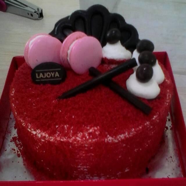 Red Velvet Kue Ulang Tahun Birthday Cake Kue Enak Shopee Indonesia