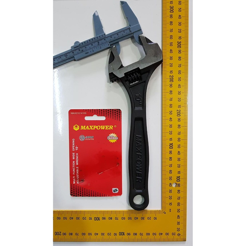 Kunci Inggris 8 Inch Adjustable Wrench Maxpower Skls Tekiro Shopee L Bintang 9set Indonesia