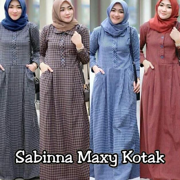 Baju Gamis Syari Sabinna Maxy Dress Murah - Daftar Harga Terlengkap ... 846349fd9d