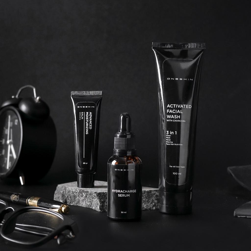 Oneskin Paket Advance – Paket Lengkap Skincare Pria