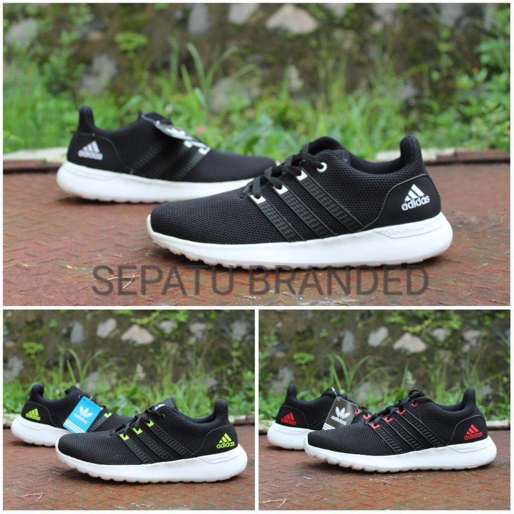 Sepatu Sans Zero One Olahraga Lari Running Pria Laki Cowok Putih Hitam  Keren Gaya Murah Sneakers  333c769633