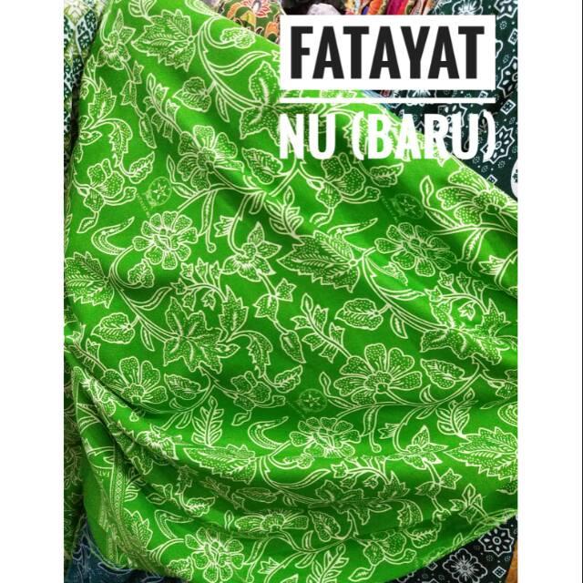 Kain Seragam Nasional Fatayat Nu Baru