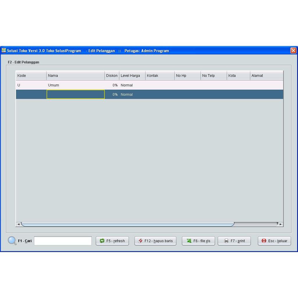 Software Solusi Toko versi 3 0 - Aplikasi POS-Kasir Toko&Supermarket