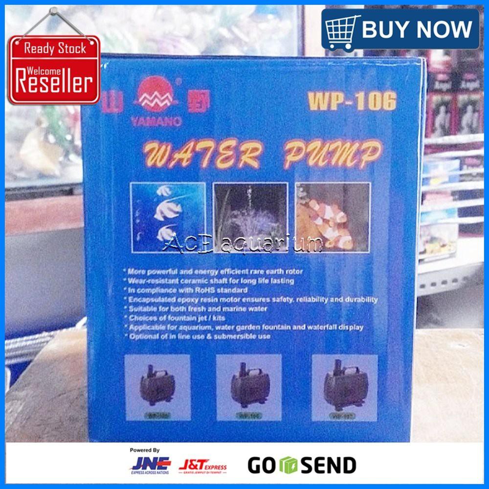 Pompa Filter Kolam Yamano Wp 104 Naik 2 Meter Ikan Koi Aquarium  103 Celup Dalam Air Shopee Indonesia