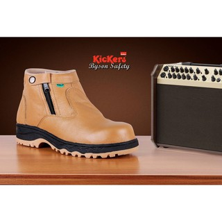 FREE Kaos Kaki Sepatu Boots Safety Pria Resleting Kulit Asli Kickers Byson  Harga Murah 349e746fa0