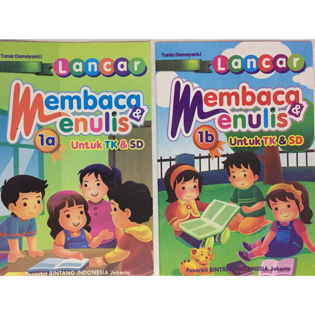Buku Anak Lancar Membaca Dan Menulis 1a 1b Shopee Indonesia