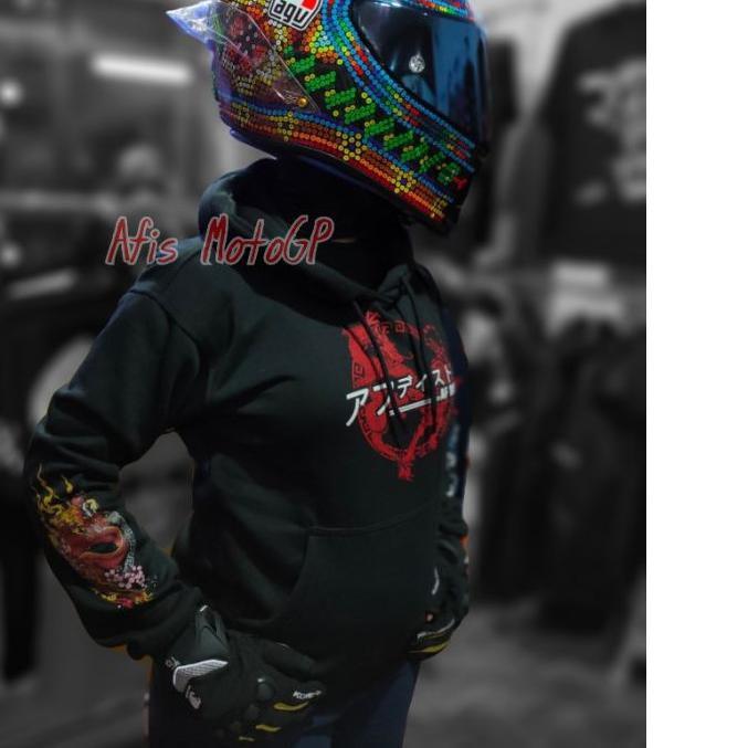 ♛  2.2♛ Trend Dicari hoodie sunmori japanese limited edition ride with style hoodie kohaku naga tige