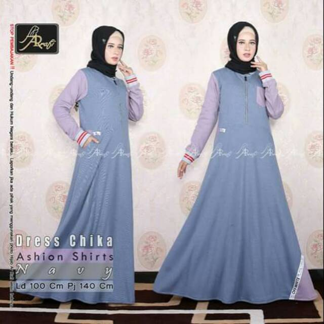 Dress Chika Usa Dress Casual Dres Branded Murah Dress Sporty Gamis Stylish Gamis Arrafi Gamis Nyaman Shopee Indonesia