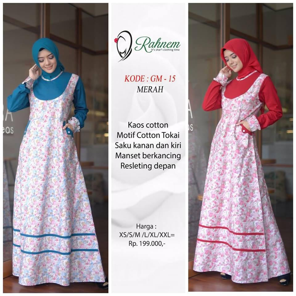 Harga Gamis Rahnem Terbaik Dress Muslim Fashion Muslim Maret 2021 Shopee Indonesia