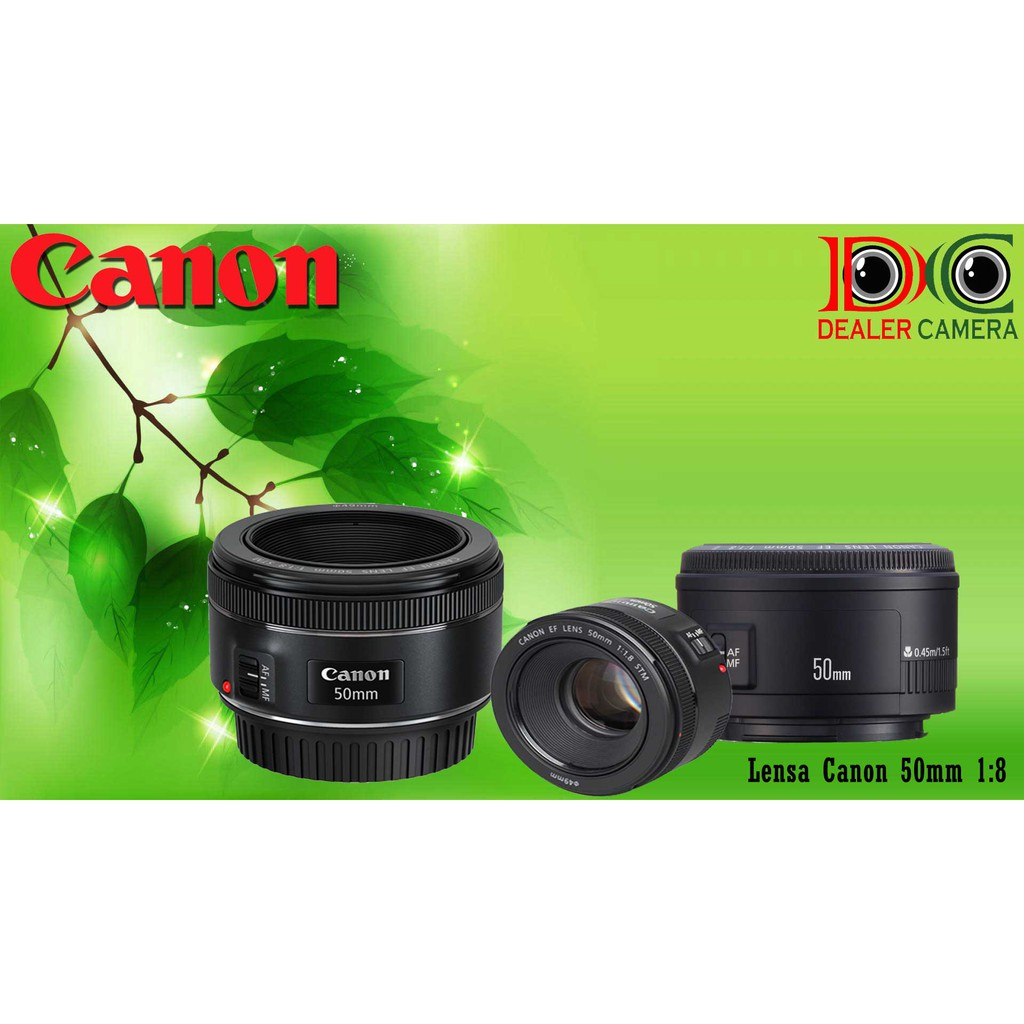 Lensa Yongnuo 50mm F18 For Canon Shopee Indonesia 50